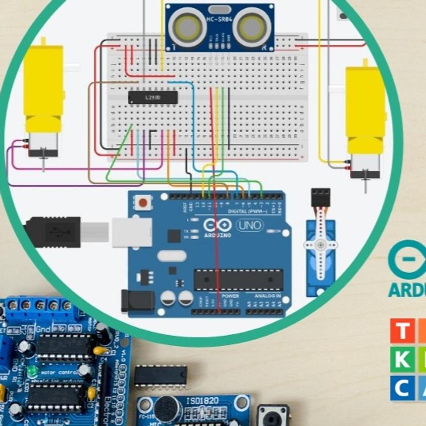 מעגלים אלקטרוניים ותכנות פיזי - סדנה מקוונת
