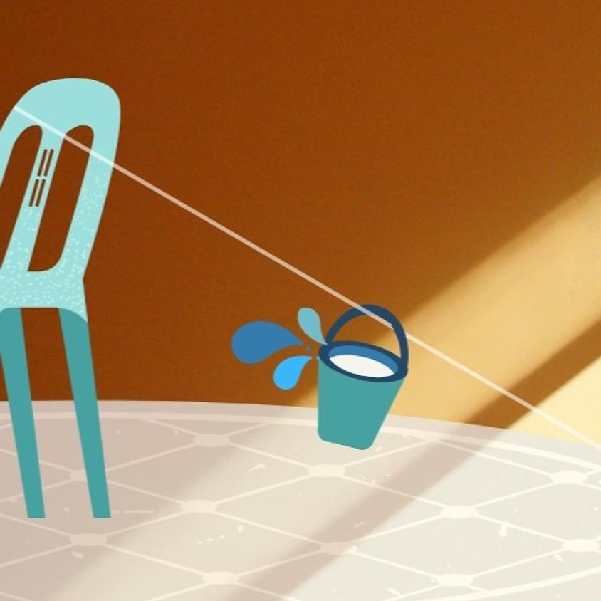 אתגר מקוון כוס מים ברכבל - מקוון