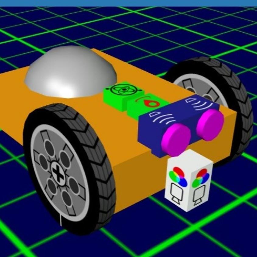 סדנת GearsBot - סימולטור רובוטי חופשי.