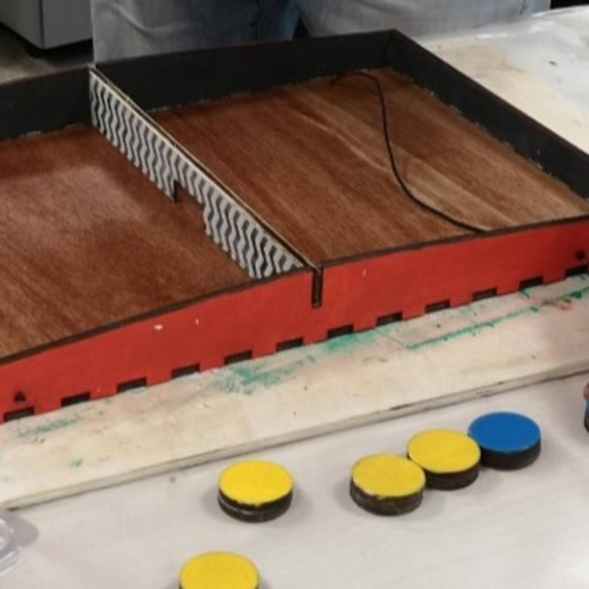 בניית משחק פוקט - סדנה במתחם