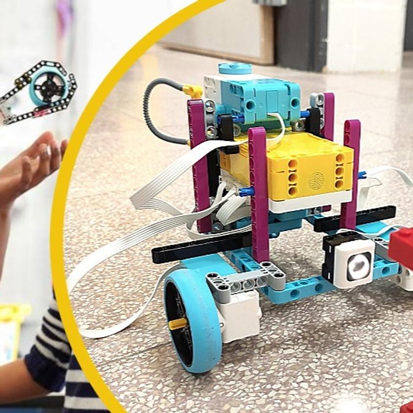 חשיפה לעולם הרובוטיקה באמצעות SPIKE Prime - מקוון