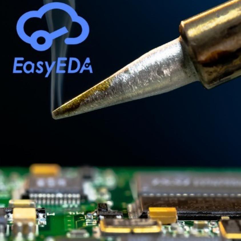 חשיפה לתכנון וייצור PCB באמצעות Easy EDA - סדנה מקוונת