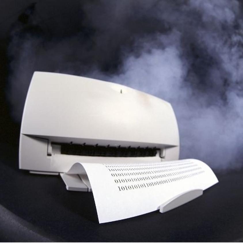 הרצאה מקוונת - איך שמים פיגמנט על נייר? הטכנולוגיה של מדפסות הלייזר