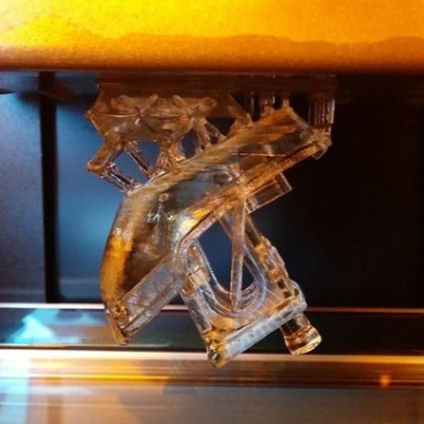 הדפסה תלת-ממד עם שרף / רזין / פוטופולימרים - מה באמת קורה שם?