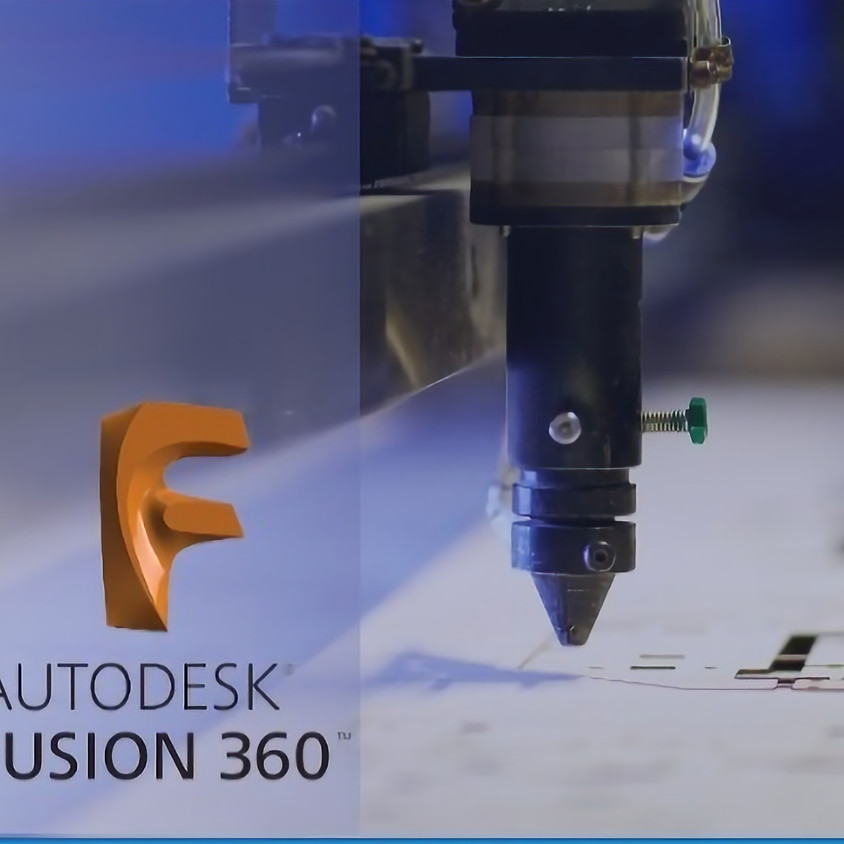 תכנון מודל תלת-ממדי לחיתוך בלייזר - פיוז'ן 360 למתחילים בשני מפגשים - מקוון