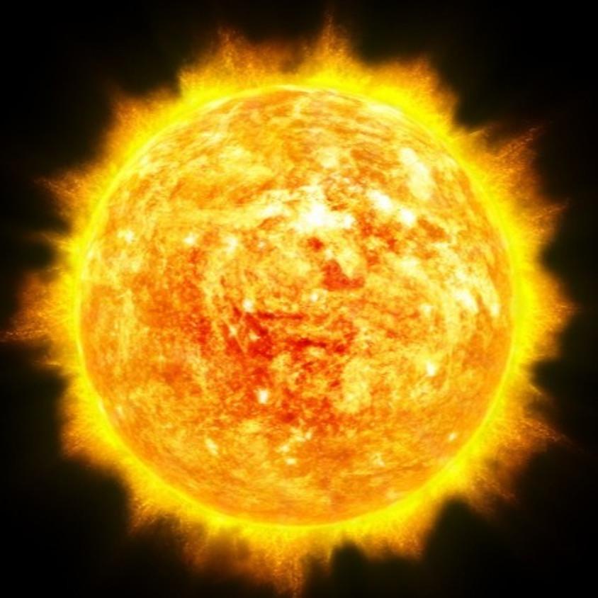 הרצאה מקוונת - השמש - המקור שלנו