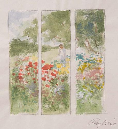 Garden Screen - Sketch