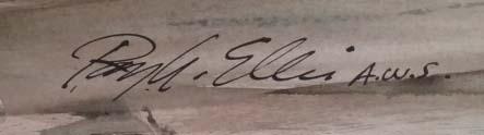 Barn Swallows-signature