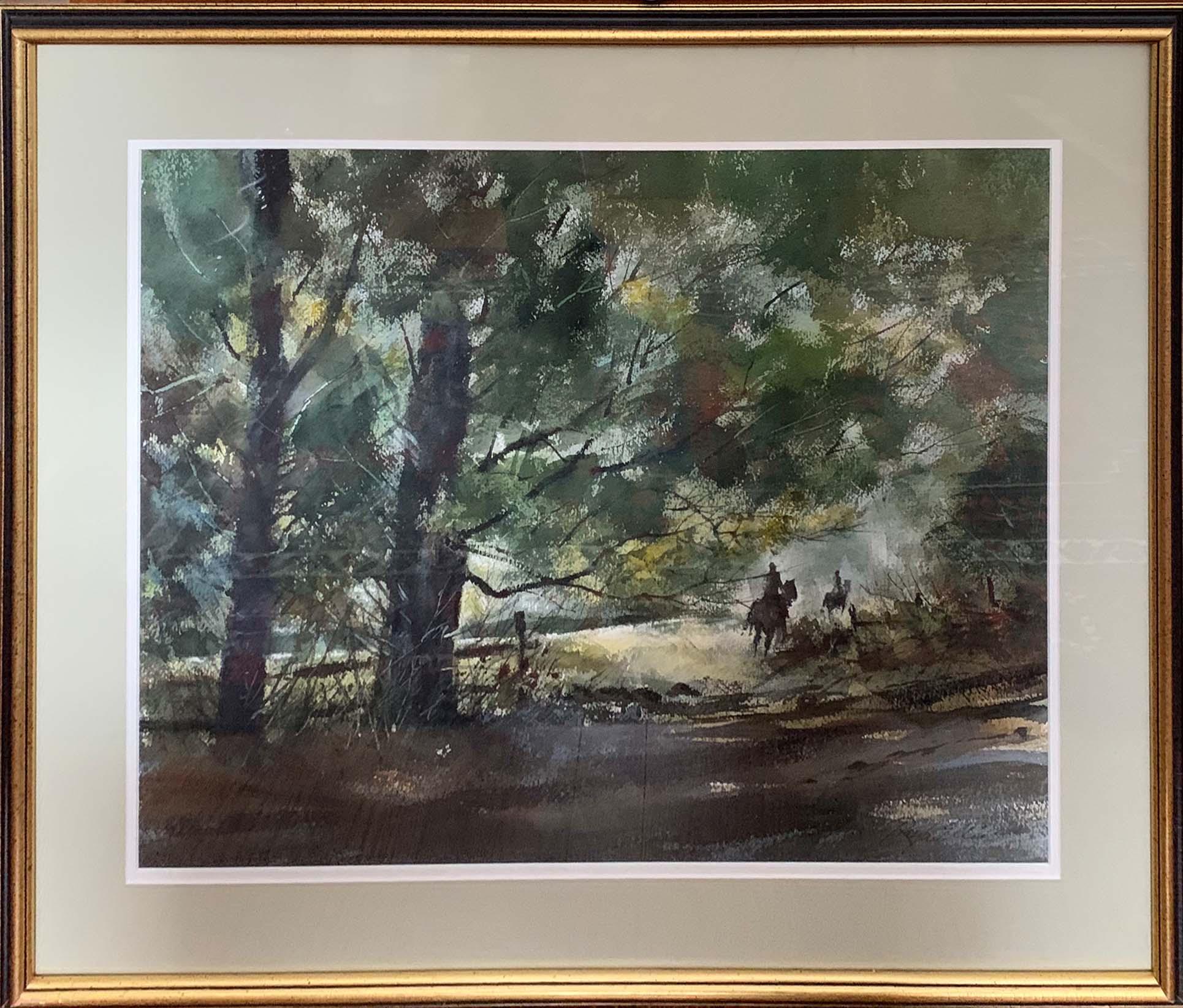 Through the Woods-framed