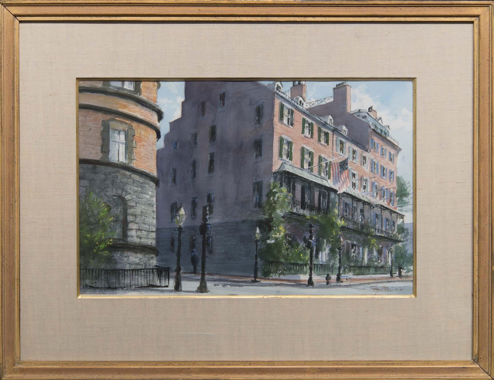 Beacon Street-framed