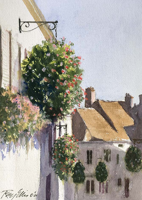 HANGING BASKETS OF AUXERRE