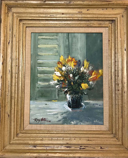 Bouquet with Freesia-framed