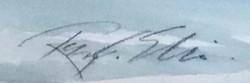 Farm in Winter-signature