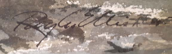 Caretaker's Cabin-signature