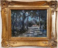 Moonlit Road-framed.jpg