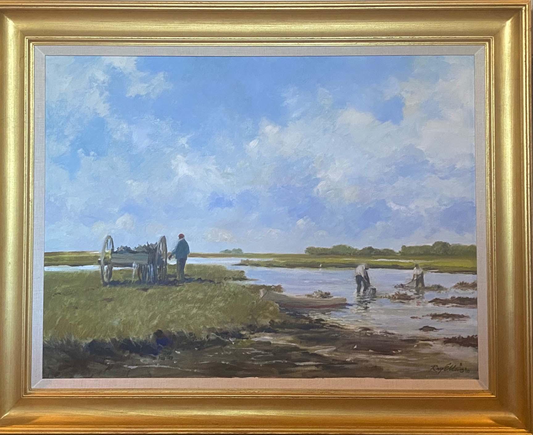 Oystering-framed
