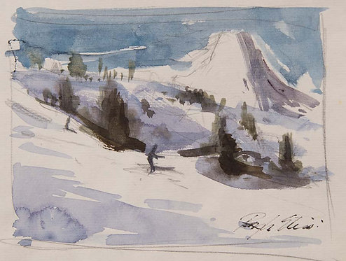 Ski Study - Matterhorn