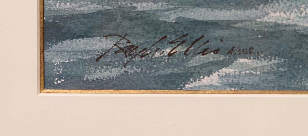 Capture of the Brig Nancy by Schooner Lee-signature