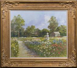 Country Garden-framed