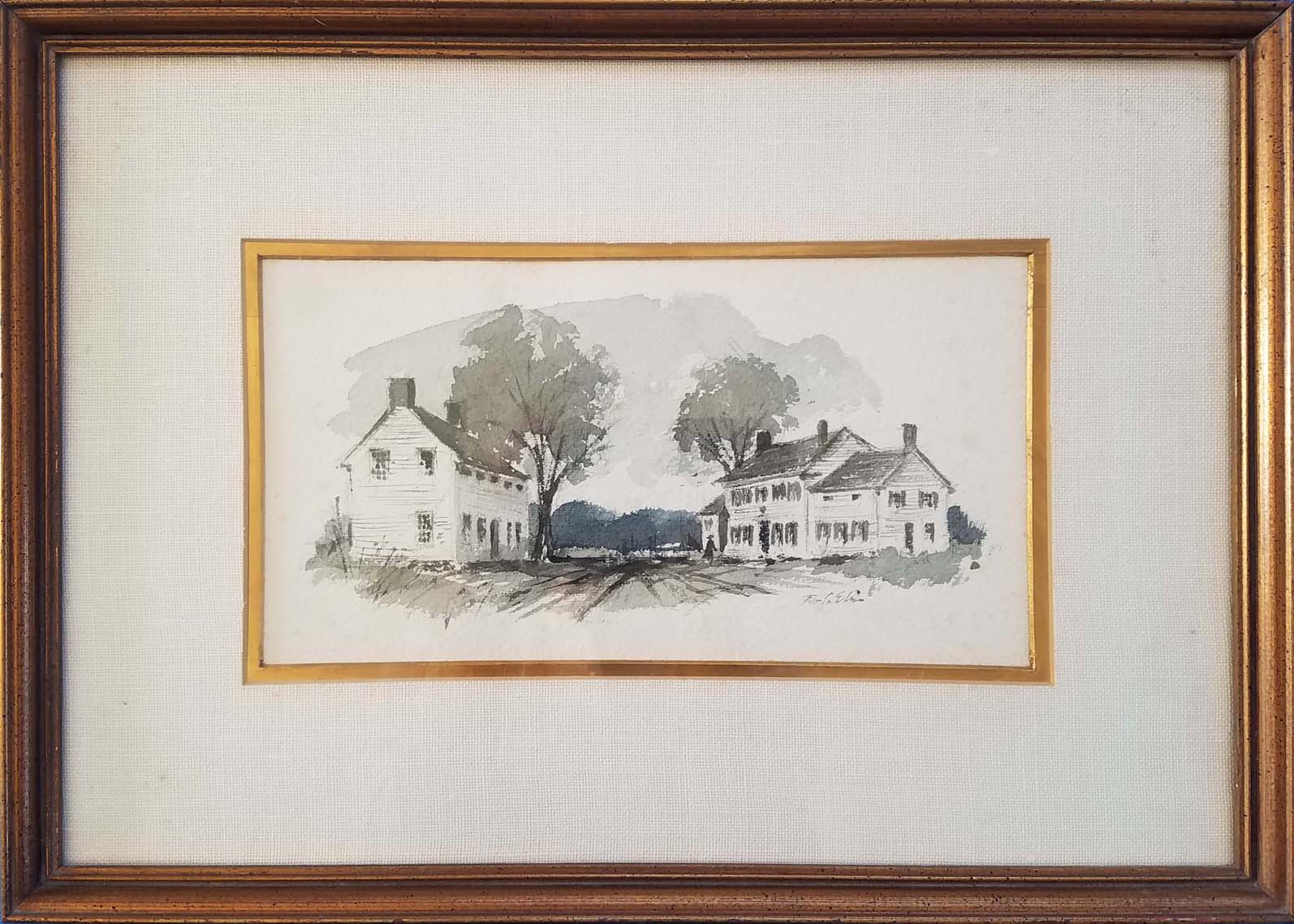 Morrell and Day Houses-framed