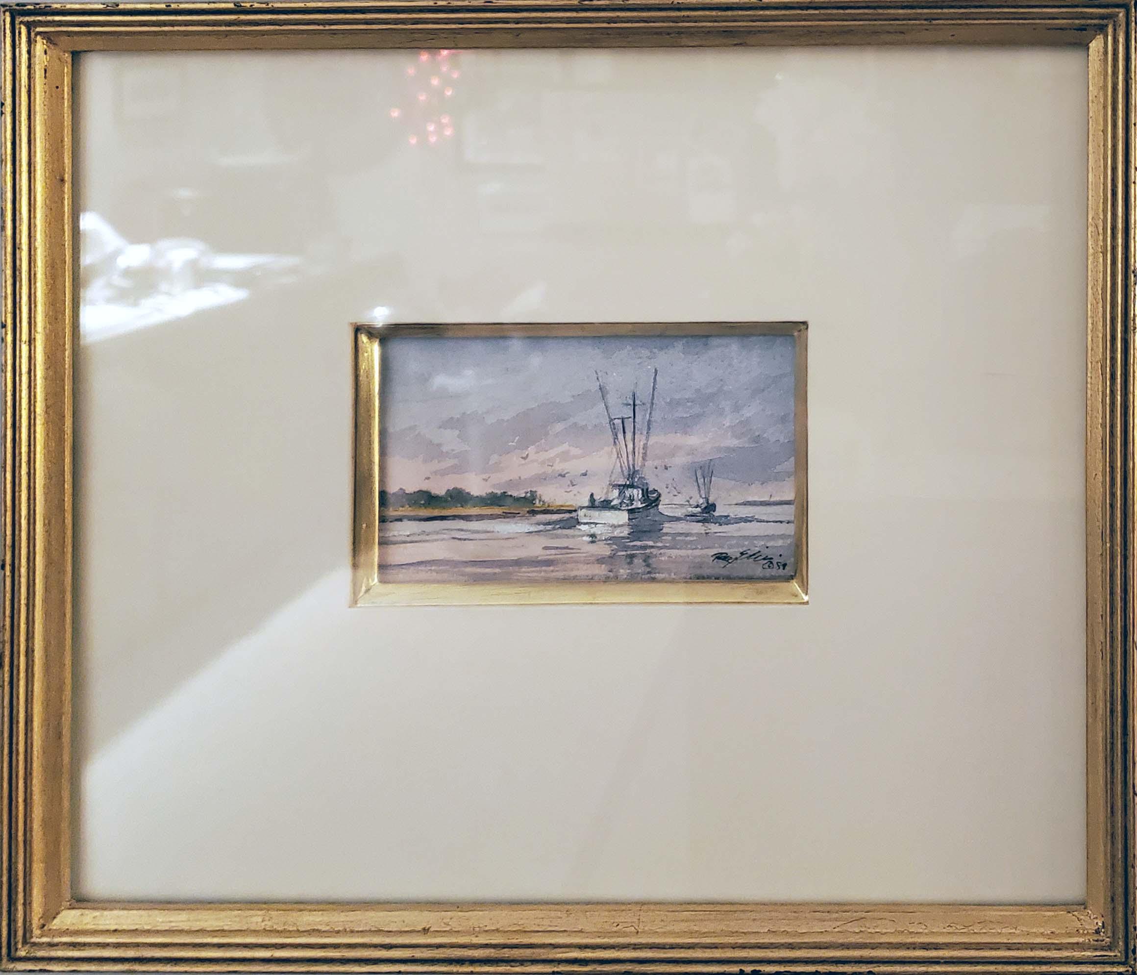 Returning Shrimper-framed
