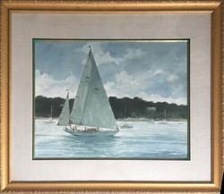 Sailing Katama-framed