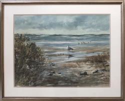 At the Beach-framed