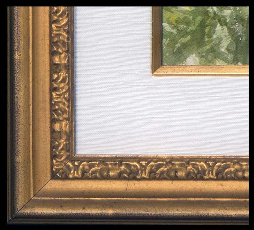 Trip to the Garden, frame detail