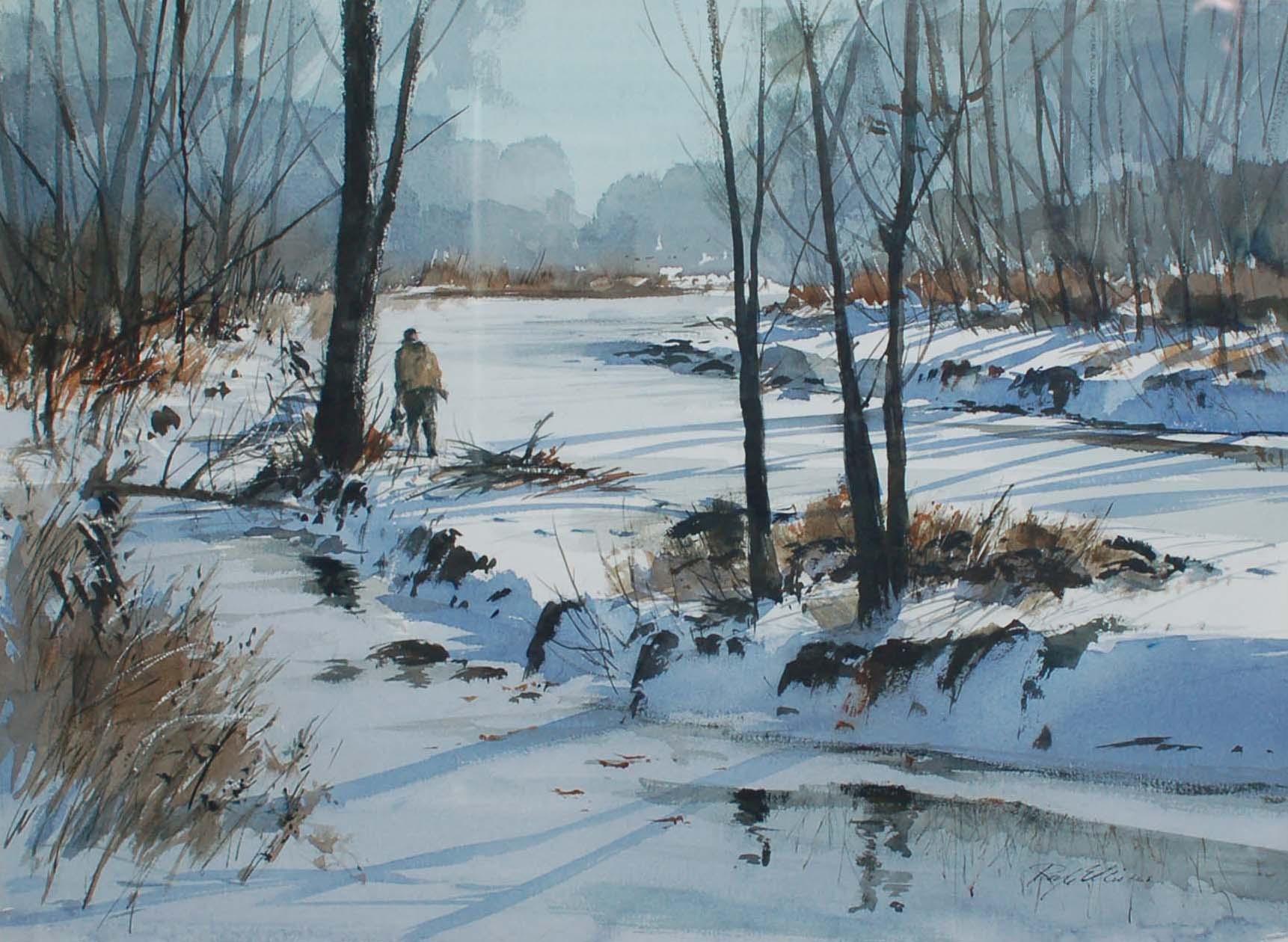 Hunter in Winter
