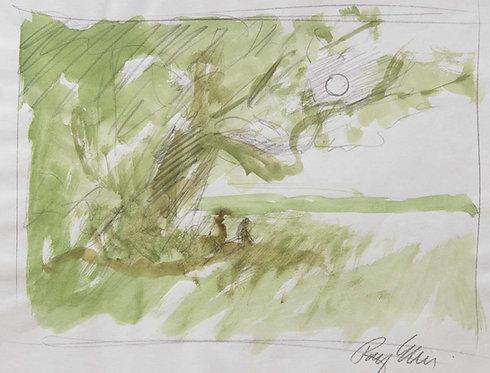 Oak and Moon