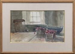 Raspberries-framed