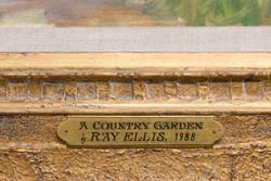 Country Garden-placque