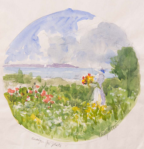 Garden Plate - Sketch