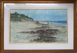 Beach Walker-framed
