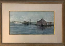 Crab Docks-framed