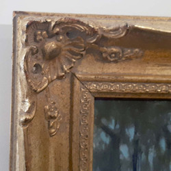 Moonlit Road-frame detail