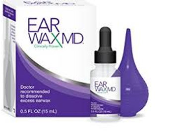 Earwax MD Take-Home Kit with Bottle (.5) & Bulb Syringe
