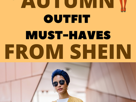 10+ Must-have Autumn Outfit Pieces from SHEIN