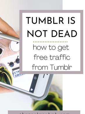 How to use Tumblr to drive traffic to your blog. It's 2021 and Tumblr is not dead.