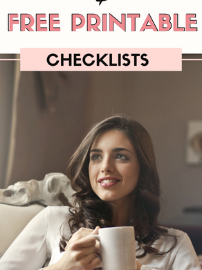 Self-Care Ideas for Relaxation + Printable Checklists