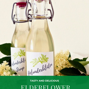 The Healthy Summer Drink Everyone Forgets To Try: Elderflower Syrup