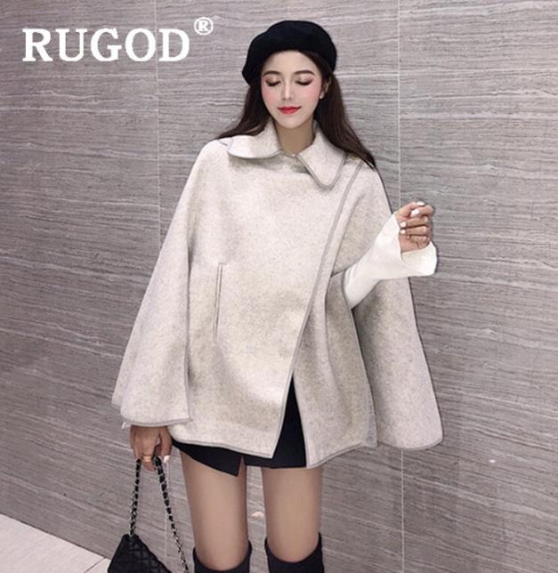 cape coat women's fashion winter