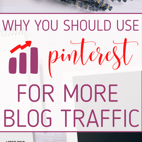 Why you should still use Pinterest to drive free traffic to your blog in 2020.