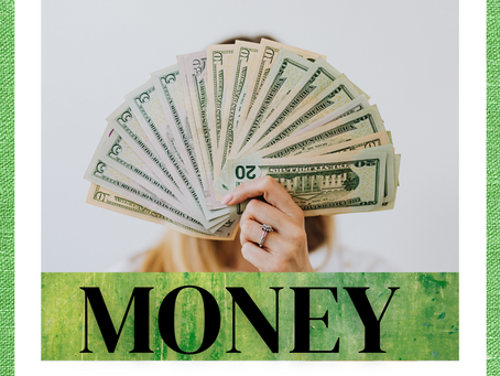 Visualizing money to attract more wealth