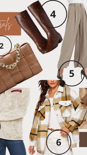 Trendy neutrals that aren't boring - autumn outfit inspiration