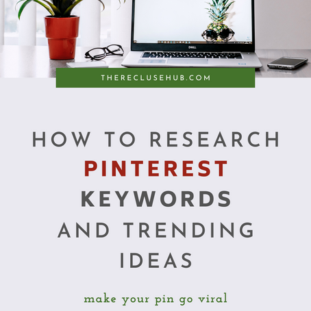 How to Research Pinterest Keywords and Trending Ideas Using the Search Bar