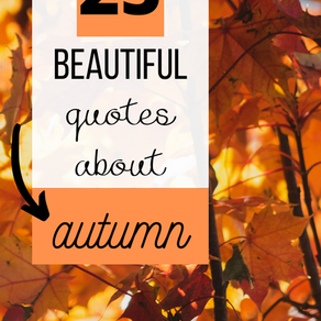 25 of the most beautiful quotes about autumn