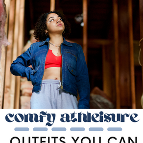 Comfy Athleisure Outfits You Can Wear At Home & Outdoors