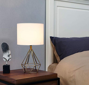 bedside lamp modern golden