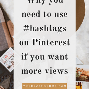 Why you need to use hashtags on Pinterest if you want more views